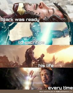 hi i love tony stark. tony stark deserved the world. hi i love tony stark. tony stark deserved the world. Films Marvel, Marvel Quotes, Funny Marvel Memes, Marvel Dc Comics, Marvel Heroes, Funny Memes, Disney Marvel, Marvel Universe, X Men
