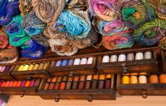 The Wool Merchant to supply my yarn addiction