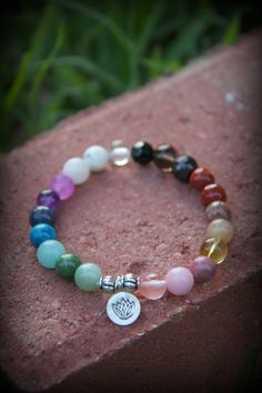 Chakra mala bracelet Mediation Inspired Yoga Beads