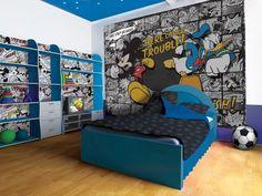 Myszka Miki i Kaczor Donald - fototapeta o wymiarach 368x254 cm  Gdzie kupić? http://www.eplakaty.pl/produkt/Myszka-Miki-i-Kaczor-Donald-fototapeta-P8-531