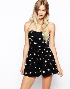 ASOS Bandeau Playsuit in Star Print http://picvpic.com/women-pants-jumpsuits/asos-bandeau-playsuit-in-star-print?ref=QA8LwA  is on sale now for - 25 % !