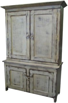 48 Inch wide SHABBY CHIC TV Cabinet Entertainment Center Heavily ...