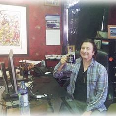 So I am in the French Alps skiing this week and Steve Perry (Journey) is in Chino at my factory working at my desk!!!!