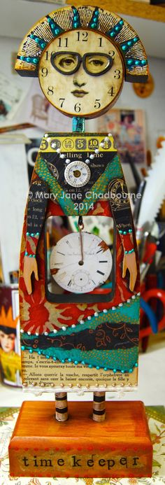 """""""The Time Keeper"""", from the Imaginarium class coming this summer!"""