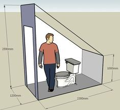 Resultado de imagen de toilet under the stairs Ergebnis der Toilette unter der Treppe – This. Small Attic Bathroom, Bathroom Under Stairs, Loft Bathroom, Bathroom Layout, Bathroom Interior, Toilet Under Stairs, Bathroom Ideas, Understairs Toilet, Attic Bedrooms