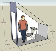 Resultado de imagen de туалет под лестницей