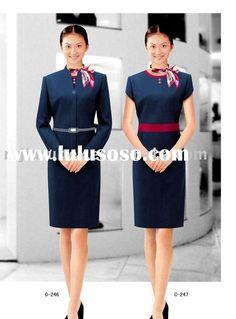 Ladies 39 suit women bank uniform office uniform for women for Spa receptionist uniform design
