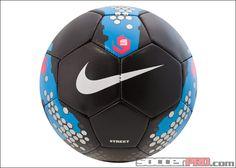 Nike5 Street Soccer Ball - Black with Blue...$16.99