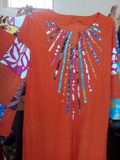 modern african fashion which looks great ! African Fashion Designers, Latest African Fashion Dresses, African Print Dresses, African Print Fashion, African Dress, African Attire, African Wear, Ladies Day Dresses, Ankara Gown Styles