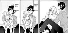 Horimiya, killing me again with it's sweetness