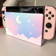 Pastel Starry Sky Skin Wrap for Nintendo Switch Video Game Decor, Video Game Rooms, Video Games, Gaming Wall Art, Gaming Room Setup, Star Citizen, Video Game Backgrounds, Kawaii Games, Video Game Quotes