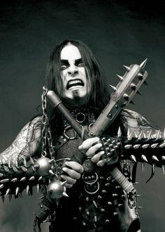 Shagrath from Dimmu Borgir Extreme Metal, Black Metal, Dimmu Borgir, Metal Songs, Rock Poster, Wolf, Gothic Metal, Music Pics, Band Photos