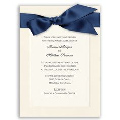 Refined Grace - Antique White With Printed Vellum Invitation  I LOVE this one!