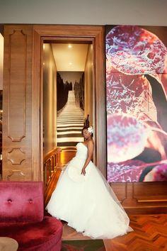 1920s Art Deco Themed Wedding in Atlanta at the Biltmore Ballrooms - Munaluchi Bridal Magazine