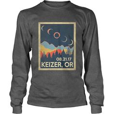 Vintage Keizer Oregon #Solar #Eclipse 2017 Tshirt, Order HERE ==> https://www.sunfrog.com//135968760-979622400.html?6782, Please tag & share with your friends who would love it, #christmasgifts #renegadelife #birthdaygifts