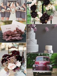 Rustic Purple Wedding Blog: Aisle Ready