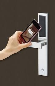 Bluetooth/RFID lock from Miwa Japan. Its promoted in India by VISTA HOSPITALITY SOLUTIONS. for more information, pl visit at  www.vistahospitality.co.in Hotel Lock, Hotel Door Locks, Hospitality, Bluetooth, India, Japan, Digital, Goa India, Japanese