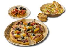 Leafware 75 Piece Round Dinnerware Set - Includes Leafware Round 9 and 6 Inch Plates and 7 Inch Round Bowl