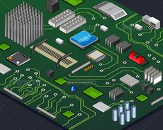 Realistic Graphic DOWNLOAD (.ai, .psd) :: http://jquery-css.de/pinterest-itmid-1007871386i.html ... Isometric Motherboard ...  chip, component, computer, design, electronics, isometric, microcircuit, motherboard, pattern, pc, processor, technology  ... Realistic Photo Graphic Print Obejct Business Web Elements Illustration Design Templates ... DOWNLOAD :: http://jquery-css.de/pinterest-itmid-1007871386i.html