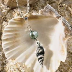 shell and ball necklace