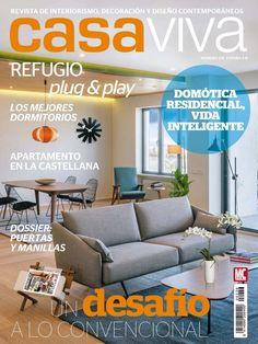 casa viva es una revista mensual que habla de decoracin actual un concepto grfico