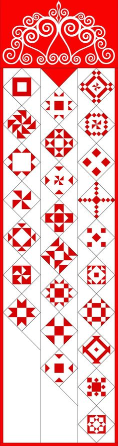 2016: Christmas Countdown Wall Hanging or Quilt from AQS