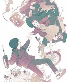 Check out this Stranger Things Eleven & Mike illustration by concept artist Jason Chan! Stranger Things Aesthetic, Stranger Things Funny, Eleven Stranger Things, Stranger Things Season, Stranger Things Netflix, Stranger Things Fan Art, Illustrations, Illustration Art, Concept Art World