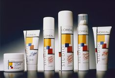 Like Totally 80s! Stu Stu Stu Studio Line from Loreal!