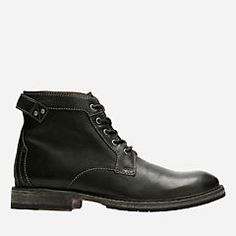 Clarks Clarkdale Bud - Mens Boots Black Leather 13 G (Medium) Ankle Boots Men, Lace Up Boots, Combat Boots, Black Leather Boots, Leather Men, Leather Fashion, Only Shoes, Men's Shoes, Clarks