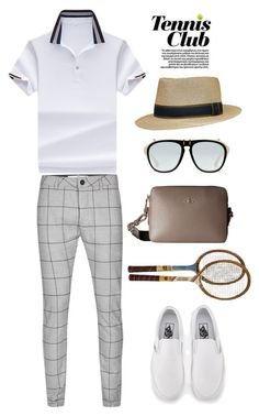 """Tennis club Wimbledon"" by thestyleartisan ❤ liked on Polyvore featuring Topman, Gucci, Vans, Vivienne Westwood, men's fashion and menswear"