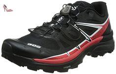 Salomon S-Lab Wings Sg, Chaussures de Trail mixte adulte, Multicolore (Black/Racing Red/White), 45.333333333333336 - Chaussures salomon (*Partner-Link)