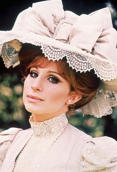 Barbra Streisand as Dolly Levi in Hello Dolly ! (1969)--there will never be another Barbra...what a voice!