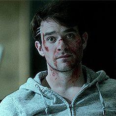 Charlie Cox your face Matt Murdock daredevil netflix daredeviledit ...