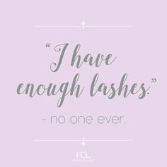 Because there's always room for more lashes. The perfect beauty quote am I right? #houseoflashes