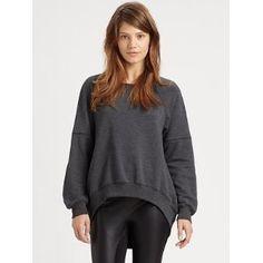 Elizabeth and James Jordans Sweatshirt - Dark Heather Grey