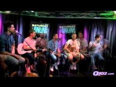 """Backstreet Boys play """"Name That Boy Band"""" Q102"""