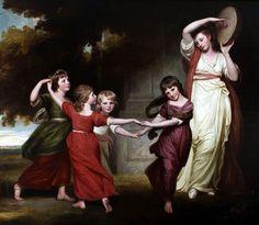 .:. Granville Leveson-Gower´s children - George Romney (painter)
