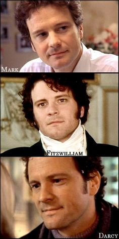 "Colin Firth as Mr Darcy in ""Pride & Prejudice"""