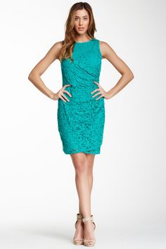 Adrianna Papell | Side Zip Lace Sheath Dress | Nordstrom Rack