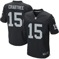 Nice 7 Best Authentic Michael Crabtree Jersey: Raiders Big & Tall Elite  for cheap