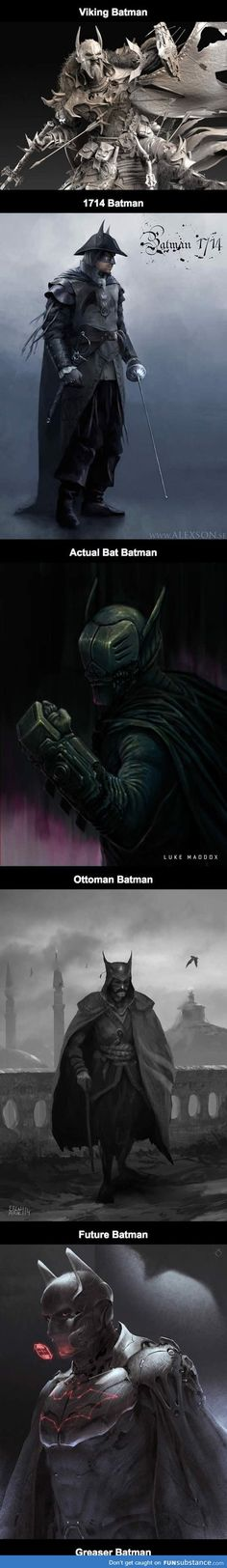 awesome batman fan art
