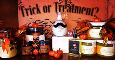 Halloween Farmhouse Fresh Vegan Natural scrubs, oils, lotions for face and body. They smell amazing as well! No sulfates, no parabens and Cruelty Free!