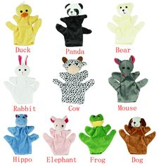 >> Click to Buy << Cute Big Size Animal Glove Puppet Hand Dolls Plush Toy baby kid Zoo Farm Animal Hand Glove Sack Plush Toy wholesale #Affiliate