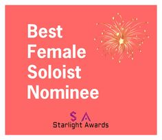 """Female Soloist Nominees"" by starlight-awards ❤ liked on Polyvore"