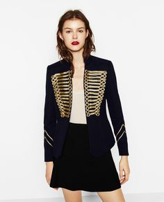 JACKET WITH TOGGLES - BLAZERS-WOMAN | ZARA United States