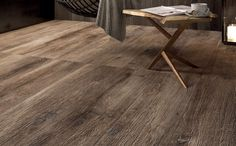 The Legend Havana 8 x 48 Porcelain Wood Look Tile made by Ariana Ceramica in Italy. Premium porcelain wood-look tile with a gorgeous time-worn wood design. Wood Parquet, Hardwood Floors, Types Of Wood Flooring, Porcelain Wood Tile, Wood Look Tile, Wall And Floor Tiles, Brown Wood, Design, Home Decor