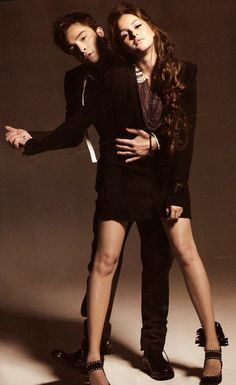 Ed Westwick and Leighton Meester Fashion Editorial | Chuck Bass and Blair Waldorf Gossip Girl