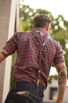 Y-Type Suspenders for Men