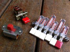 HARVESTER - bespoke guitar switches