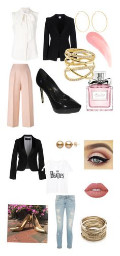 """""""save later"""" by taylorglover9 on Polyvore featuring Fendi, Armani Collezioni, Christian Dior, Kenneth Jay Lane, MaxMara, Lana, Dsquared2, Sole Society, Violeta by Mango and Lime Crime"""